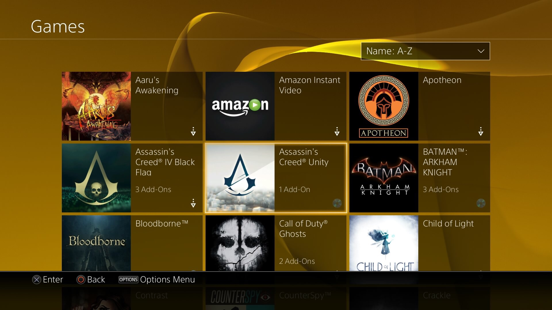 Amazon Instant Video is not a game, PS4.