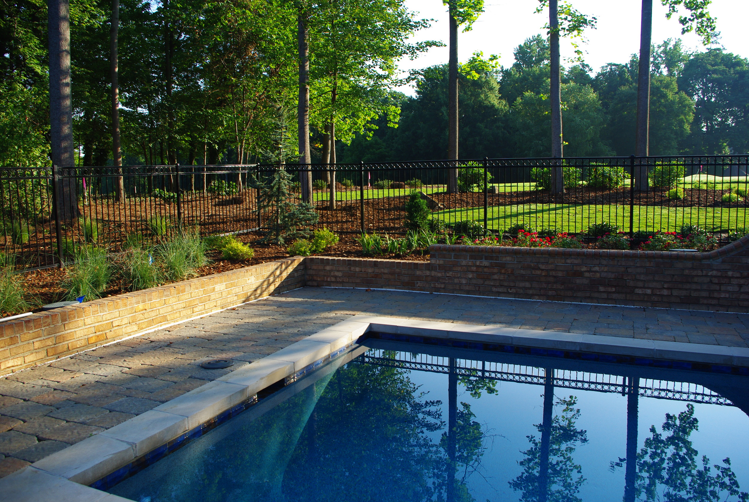 Pool Environment Renovation- 3D Landscape Design Greensboro, NC