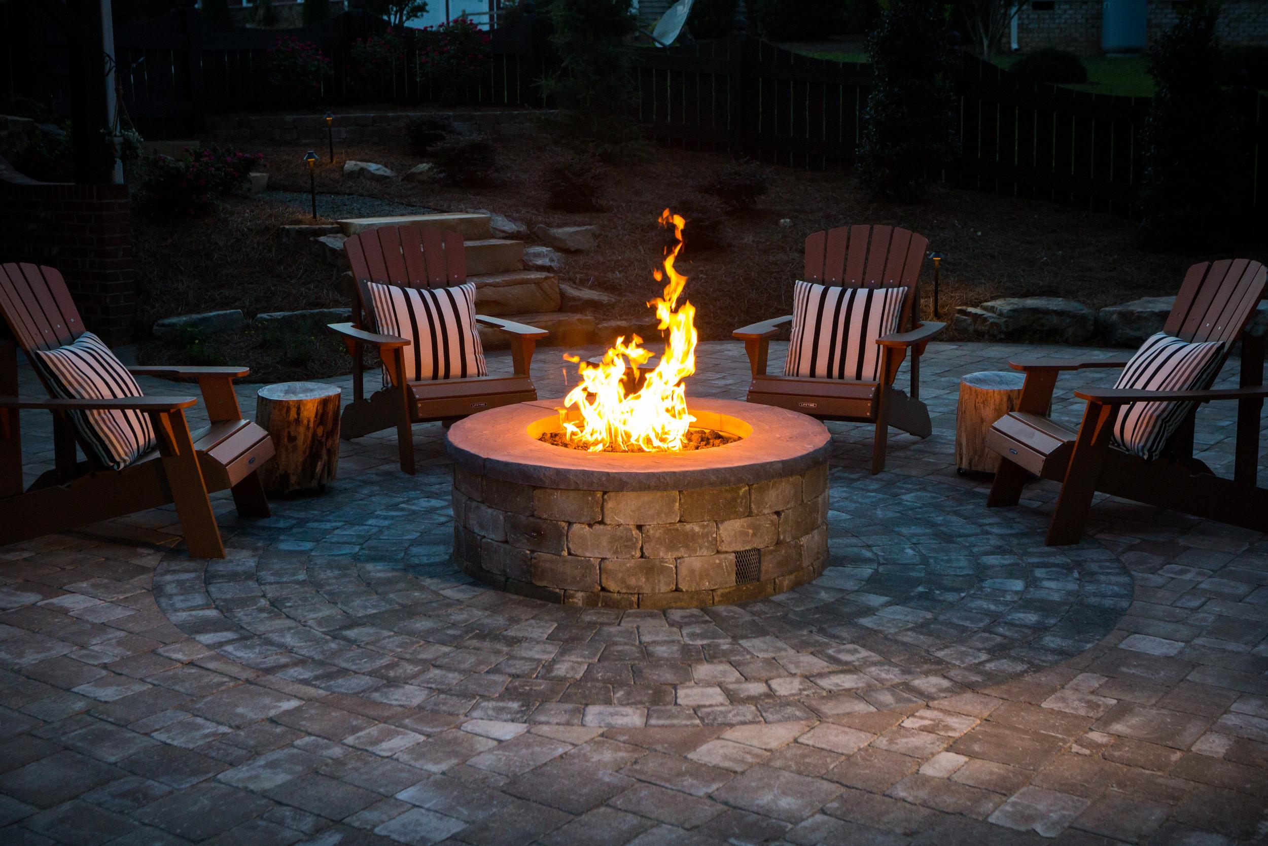 Firepit- 3D Landscape Design King NC