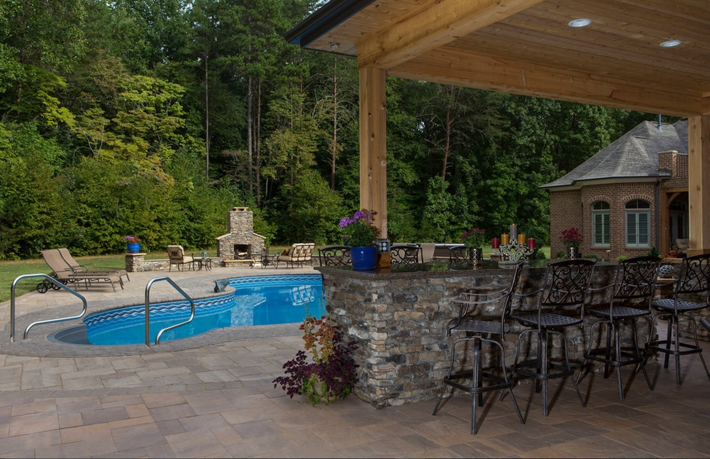 New Pool- 3D Landscape Design Greensboro, NC