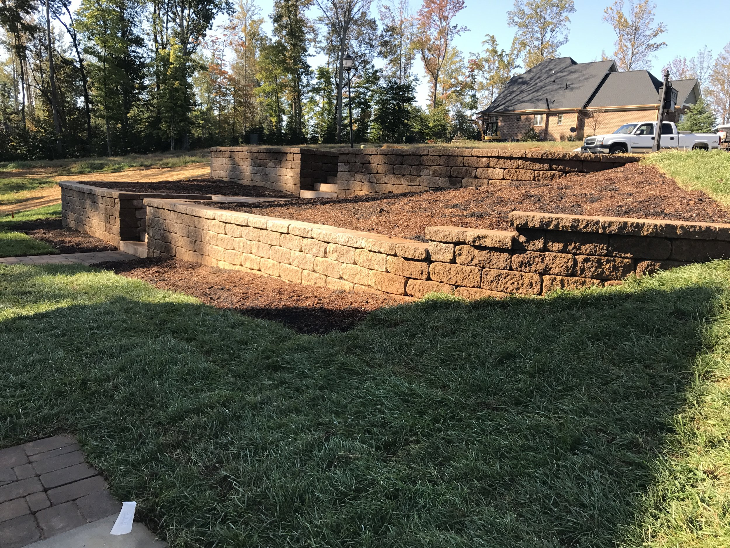 New Front Foundation- 3D landscape Design Greensboro, NC
