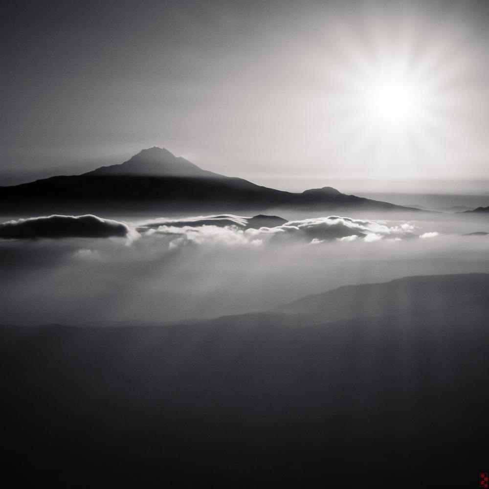 Erciyes at dawn