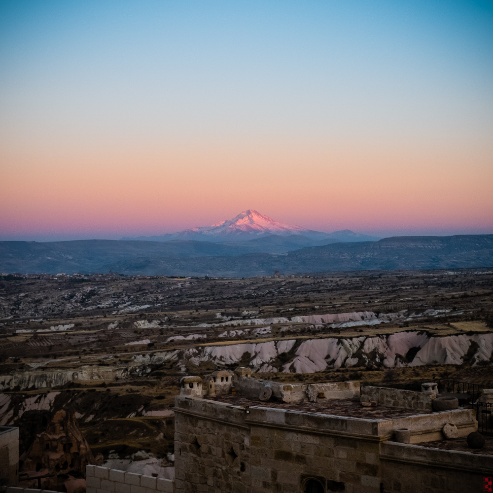 Erciyes at sunset