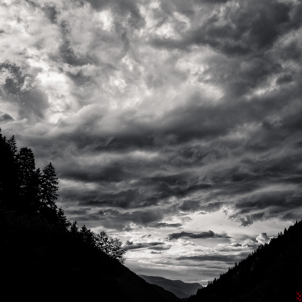 Storm in the mountains, Trabzon, Turkey