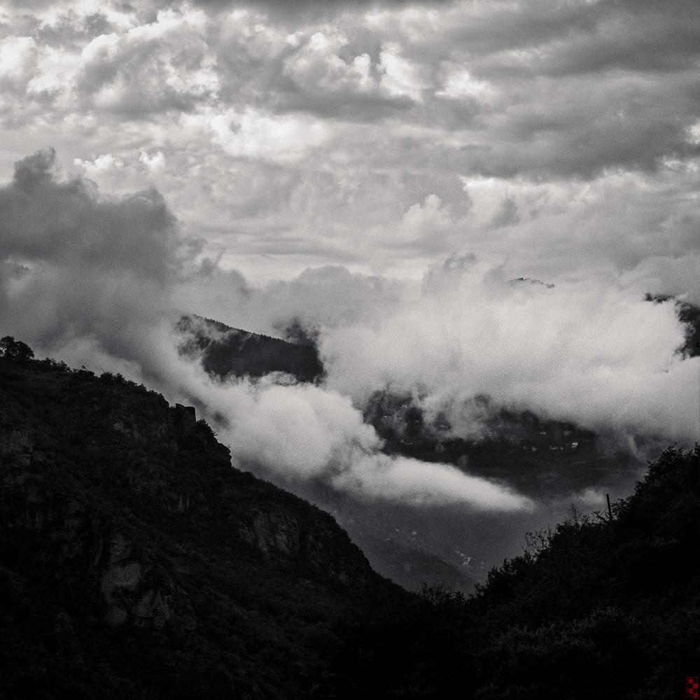 Misty valley, Trabzon, Turkey