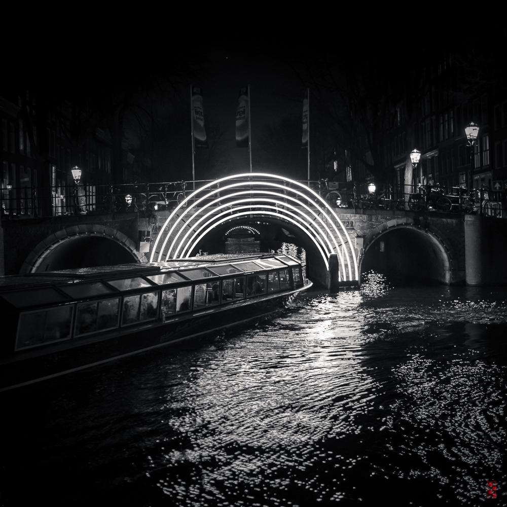 Light show, Amsterdam.