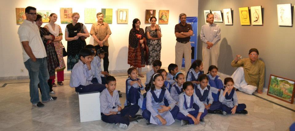 Exhibition by children atgallery 6