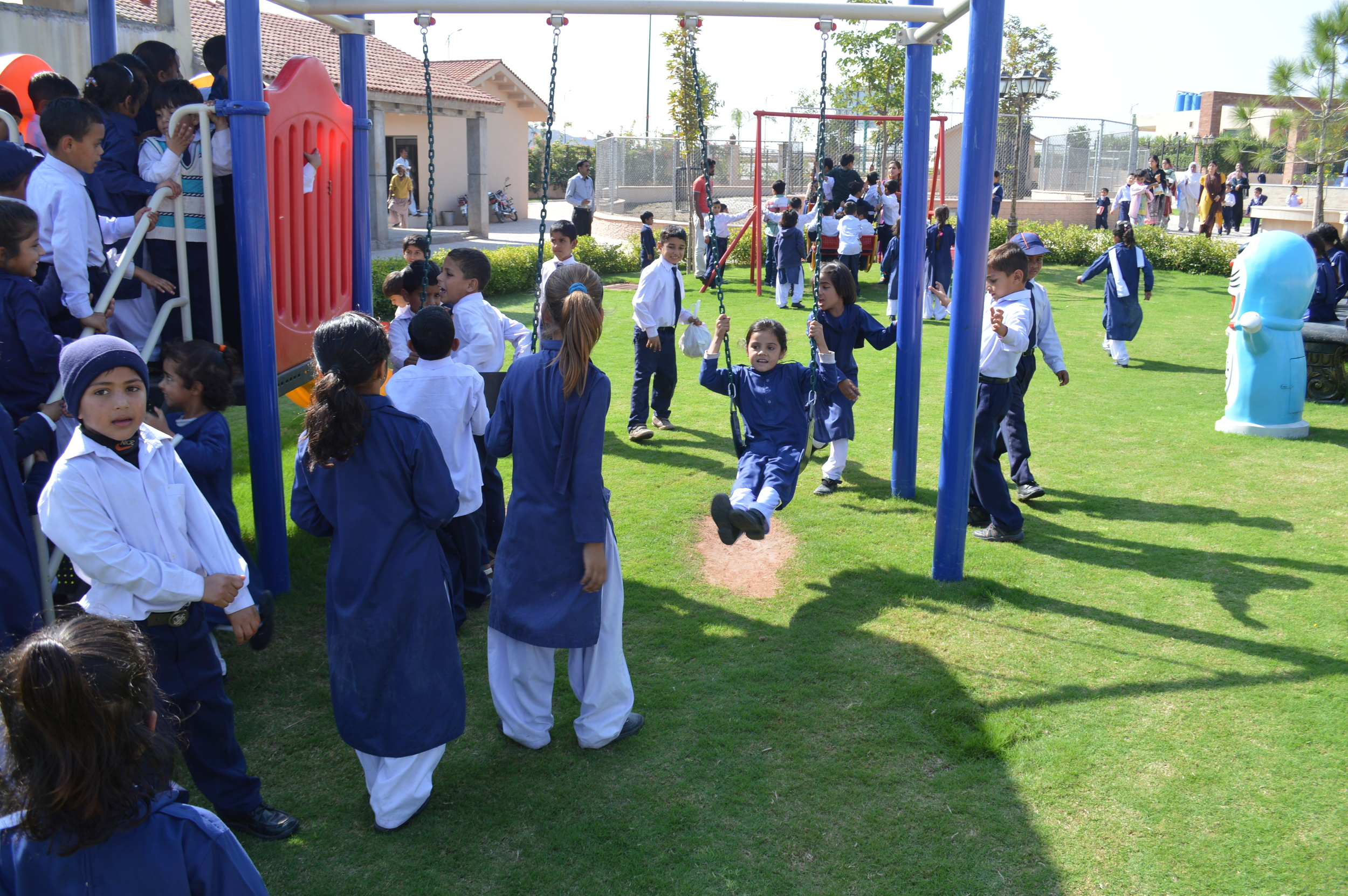 Visit to Bahria Enclave Zoo and park