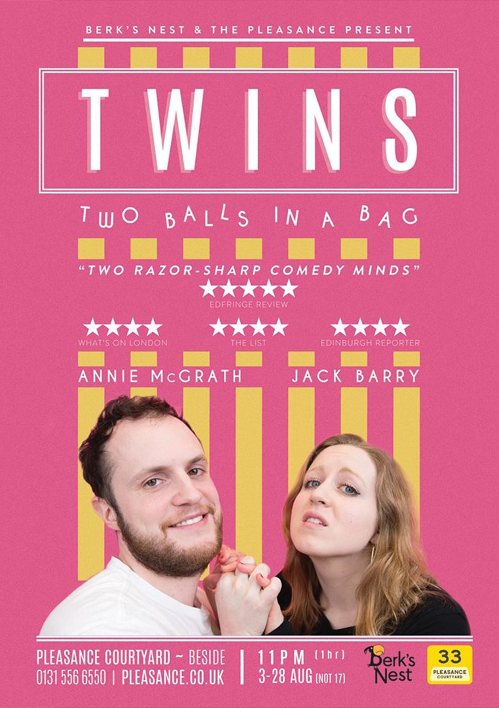 Twins: Two Balls In A Bag  (Edinburgh & NextUp streaming)