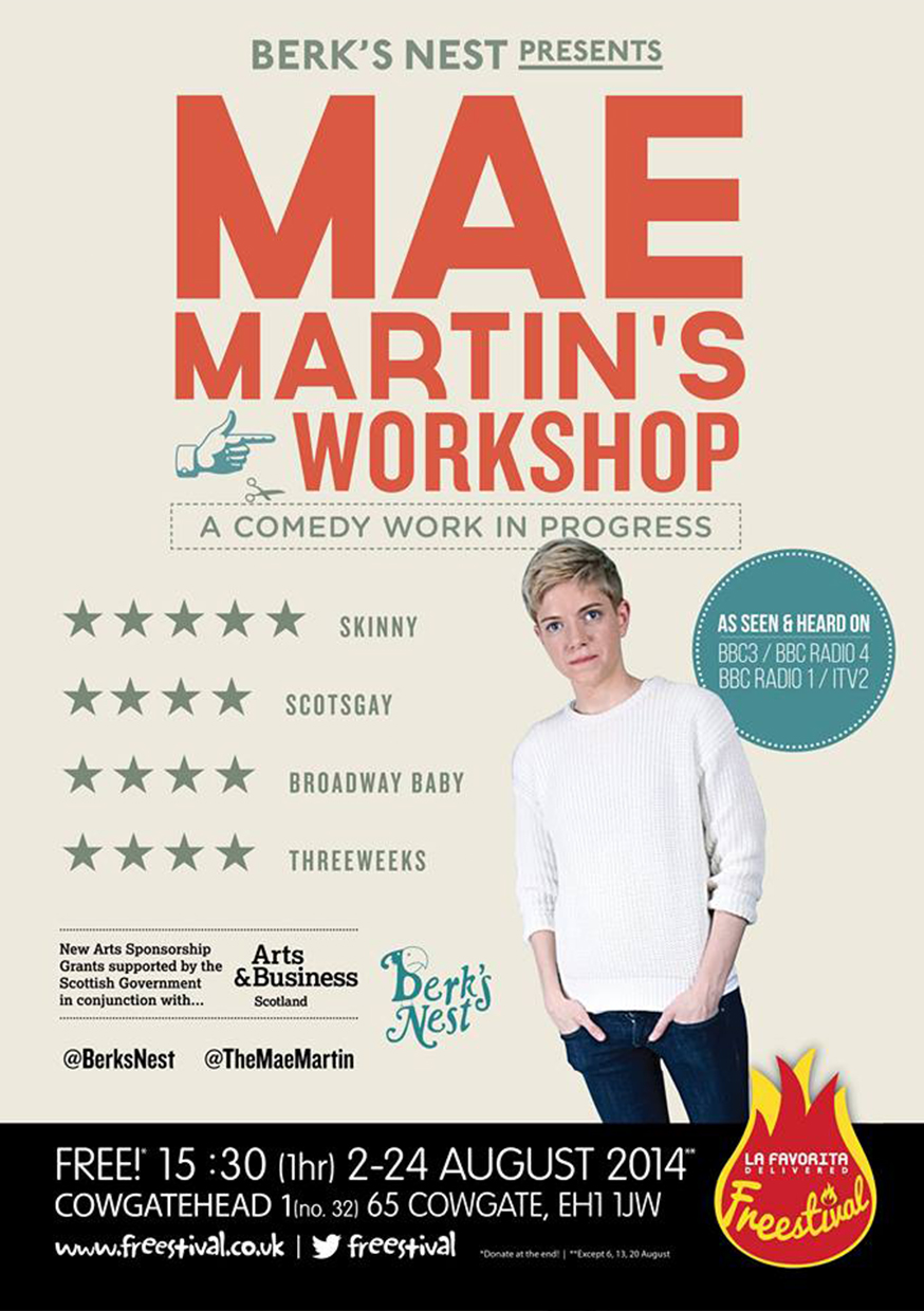 Mae Martin's Workshop