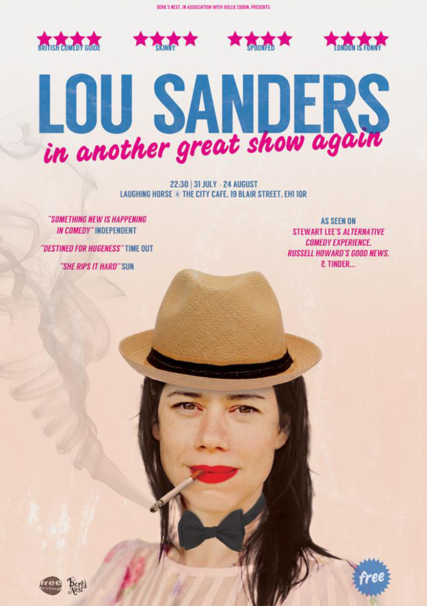 Lou Sanders In Another Great Show Again