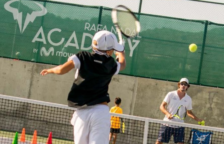 Rafa Nadal Academy Kid Photo.JPG