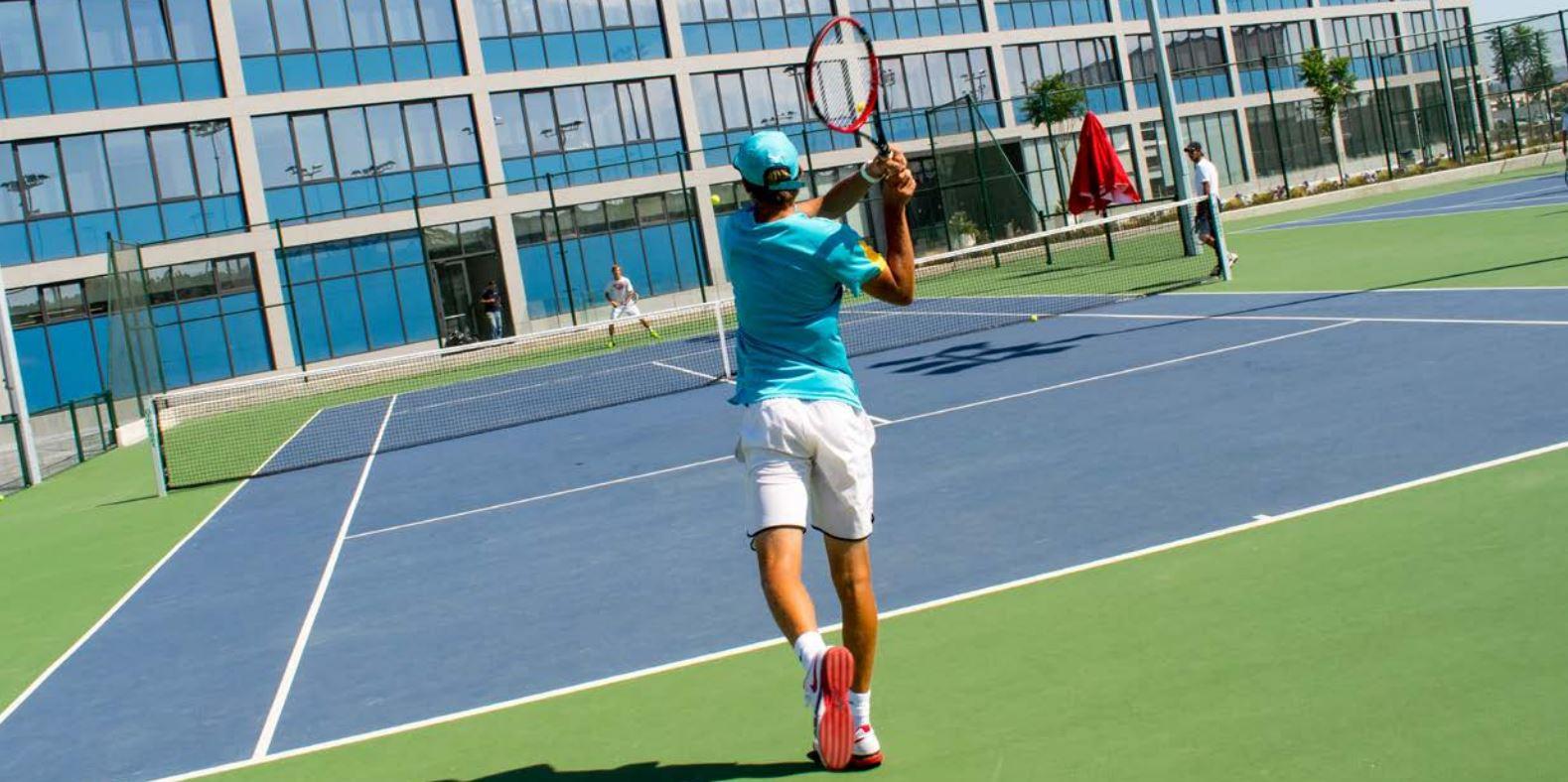 Rafa Nadal Academy Court.JPG