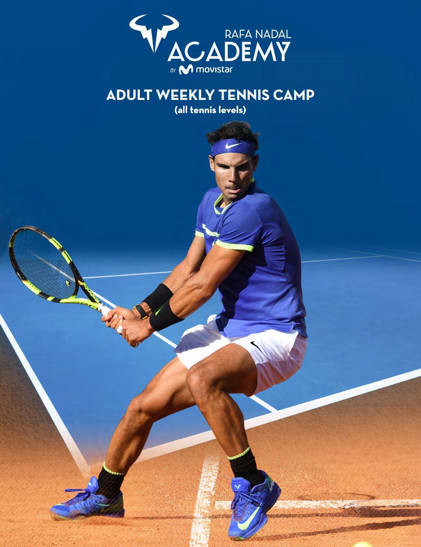 Rafa Nadal Academy by Movistar Adult Weekly Program.JPG