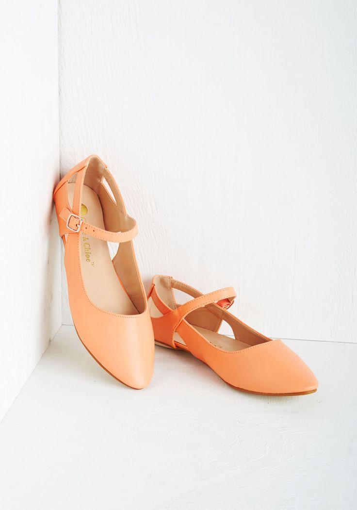 Peachy Keen Flats