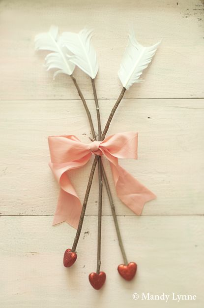 Cute Feather Arrows