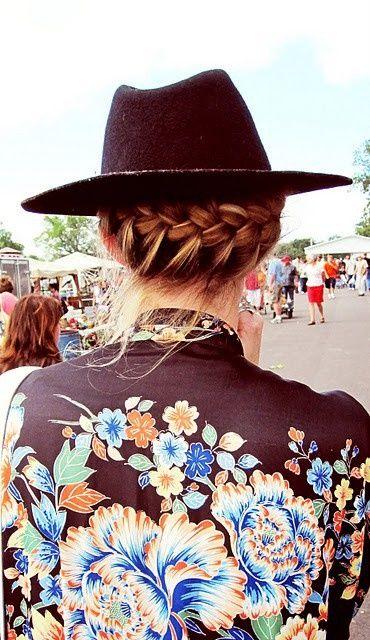 Hat + Braids