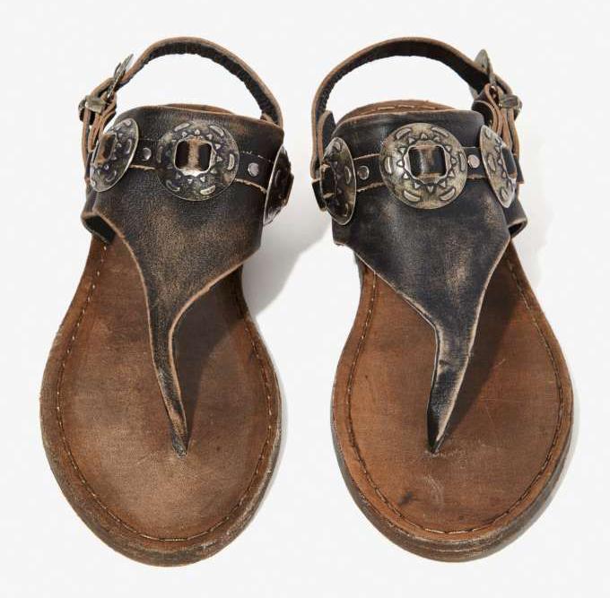 Mexicali Sandals - Boho Details