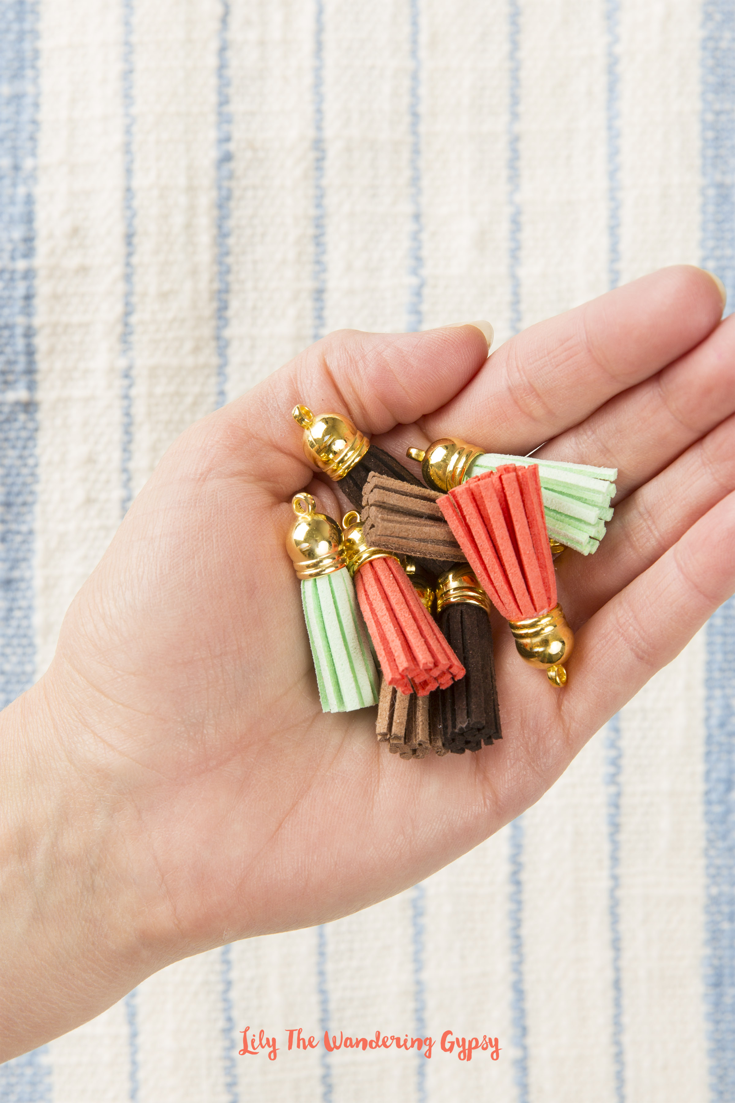 How To Make Tassel Earrings - by Lily The Wandering Gypsy