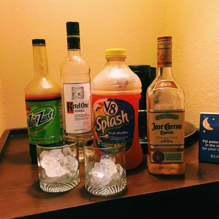 Round TWO, We had a little fun mixing drinks for ourselves before the show at The Pageant.