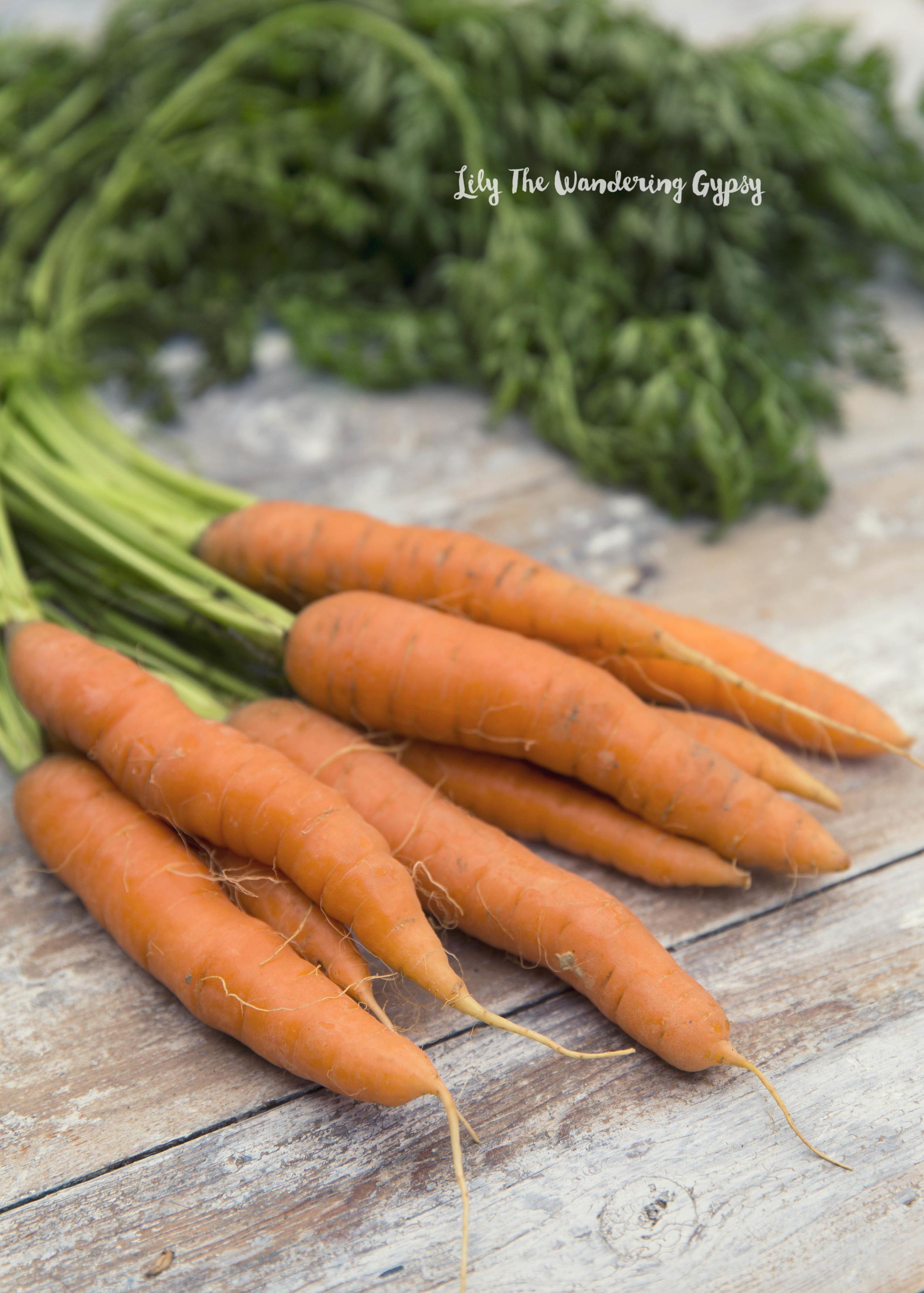 Fresh Carrots from Farmer's Market