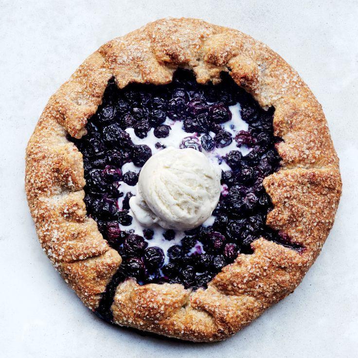 Blueberry - Pecan Galett e