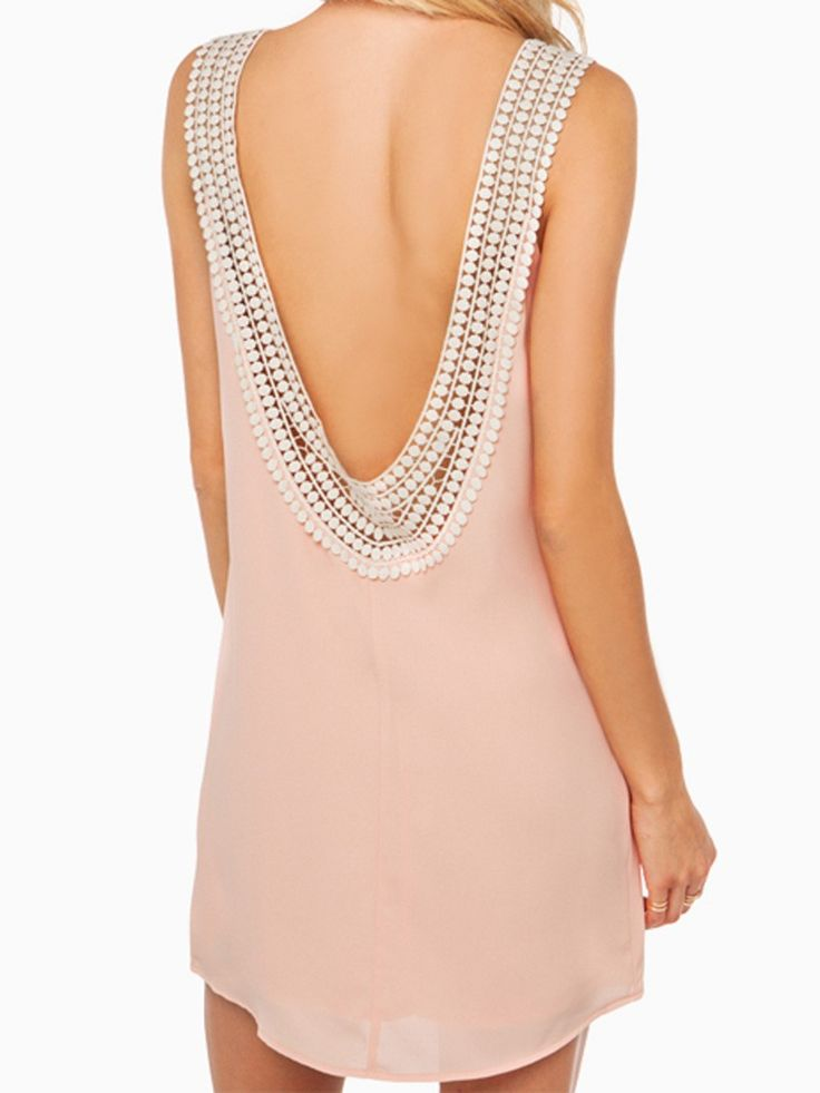 Pastel Pink Summer Dress - Great for Weddings and More!