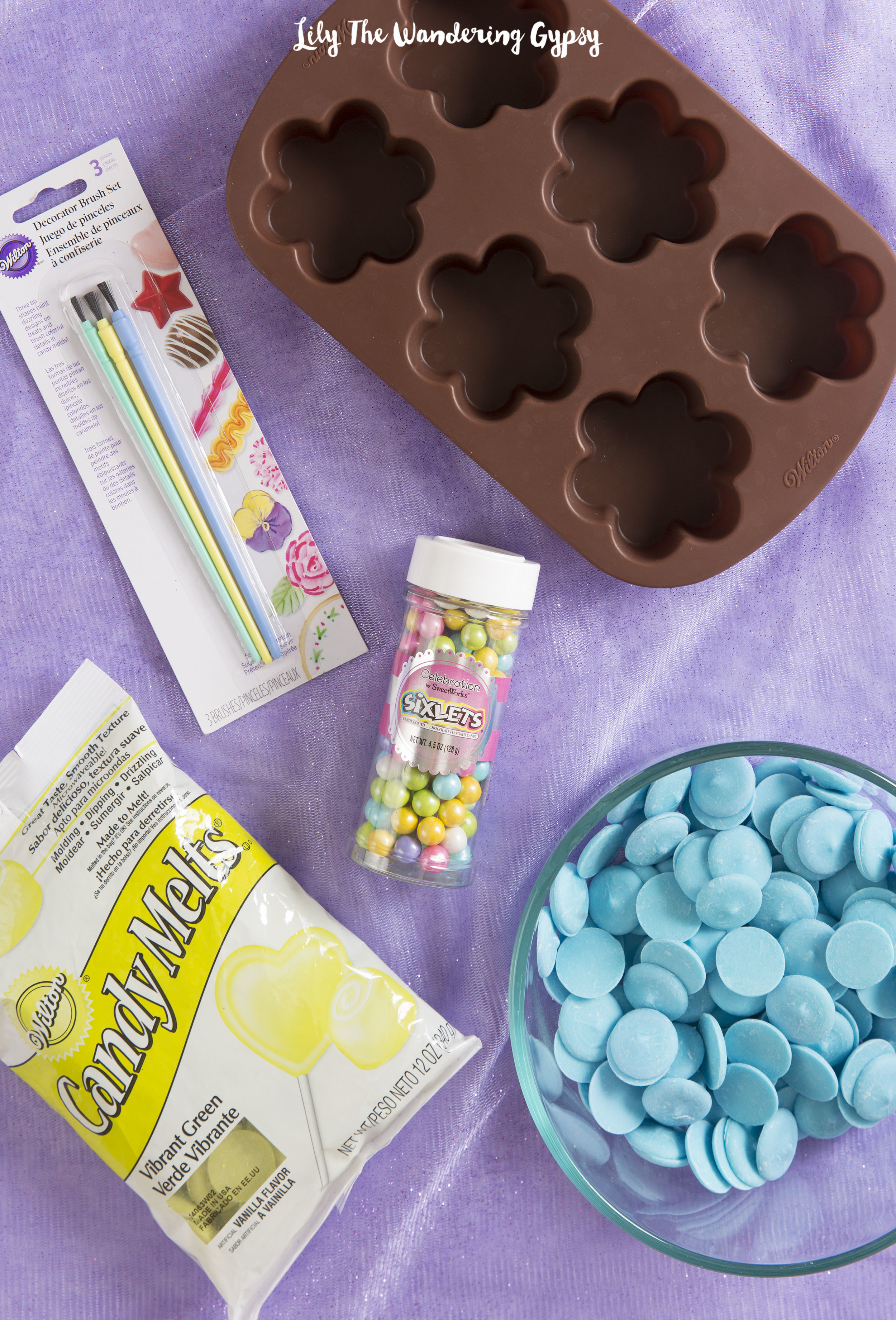 How To Make Blooming Candies!