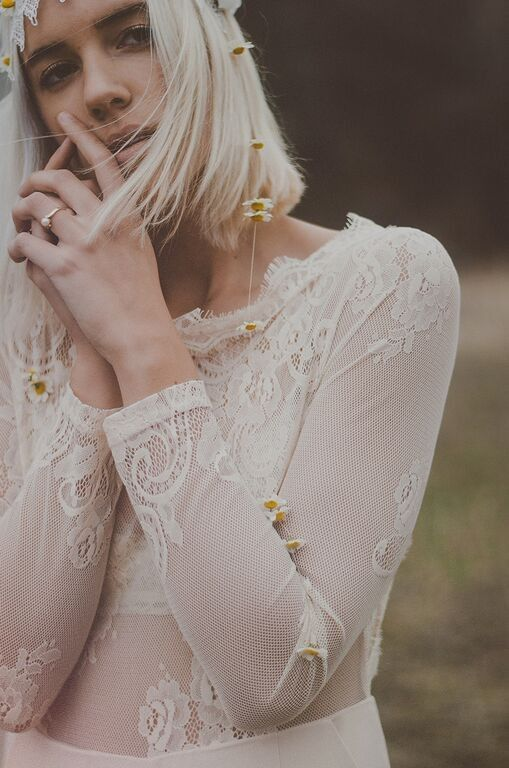 White Lace Dress, found  here .