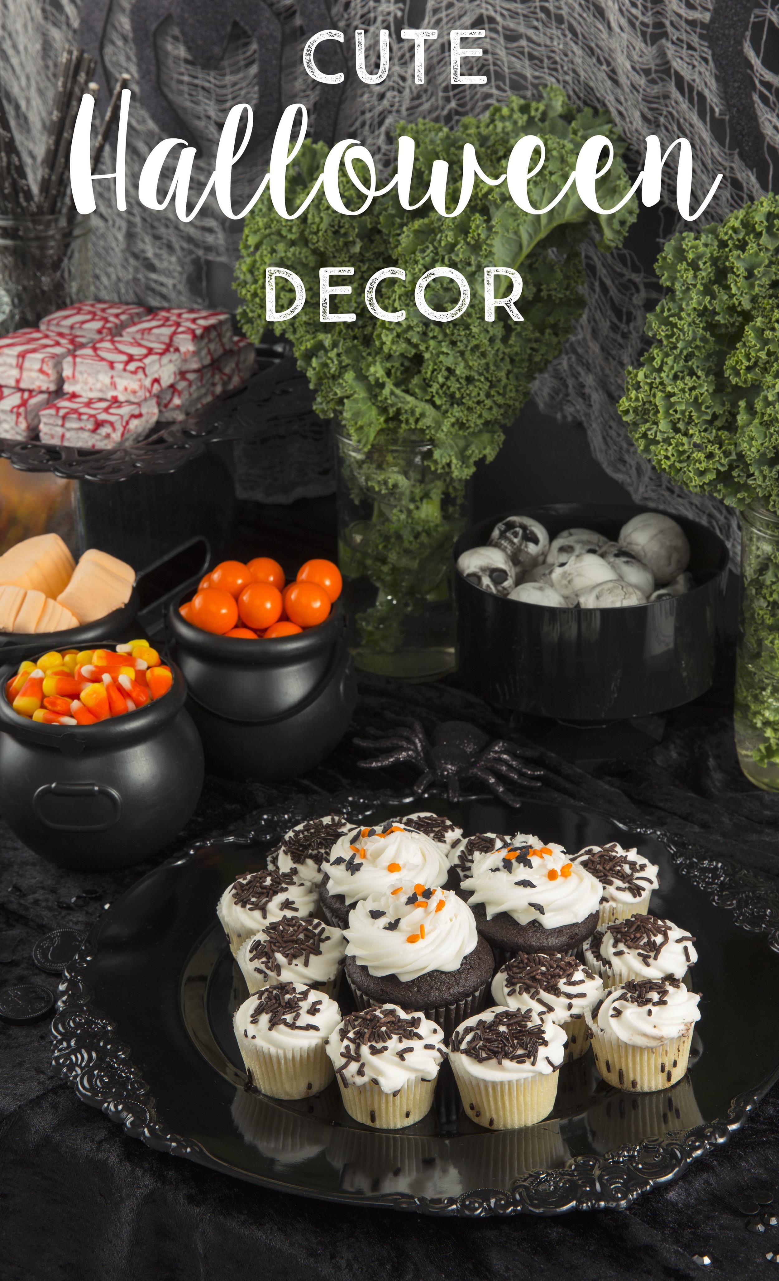 Cute Halloween Party Decor Idea