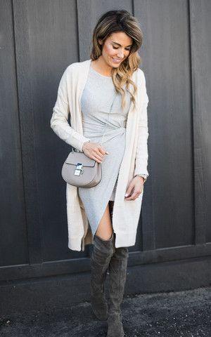 Dressy Fall Outfit Idea