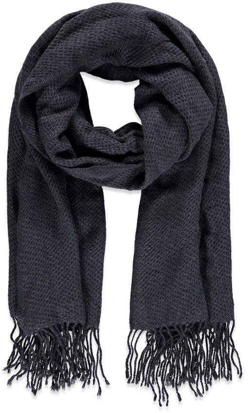 Dark Grey Scarf