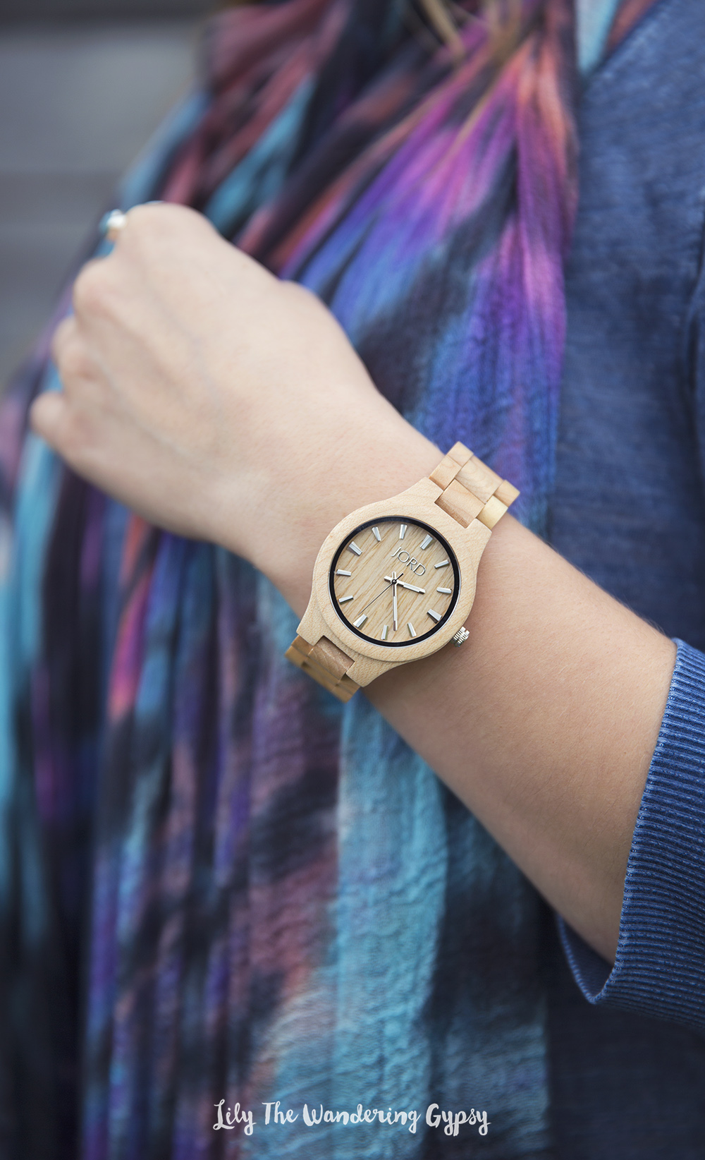 Lily The Wandering Gypsy + JORD Wood Watches