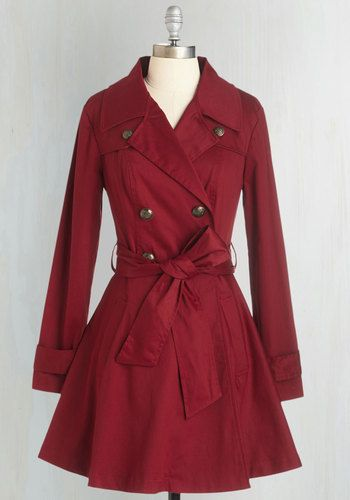 Deep Red Jacket