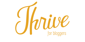 Thrive Blogger Conference