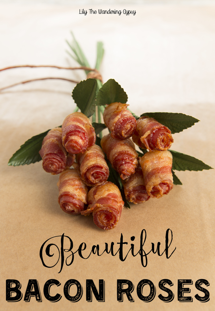 Beautiful Bacon Roses