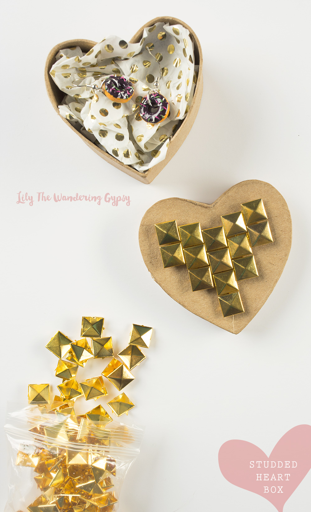 Tiny Donut Earrings