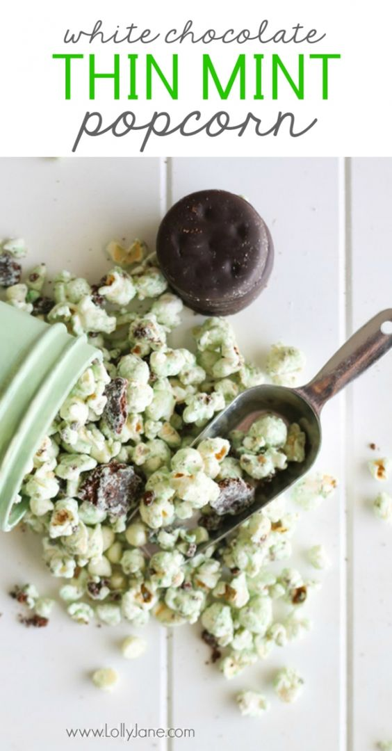 Thin Mint Popcorn by LollyJane