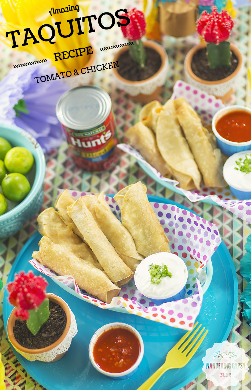 Serve with a side of sour cream, they are incredibly tasty!!!