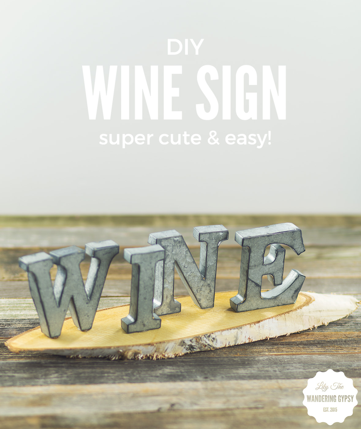 DIY Wine Sign! #BlackBoxSummer #CollectiveBias (Msg4 21+)