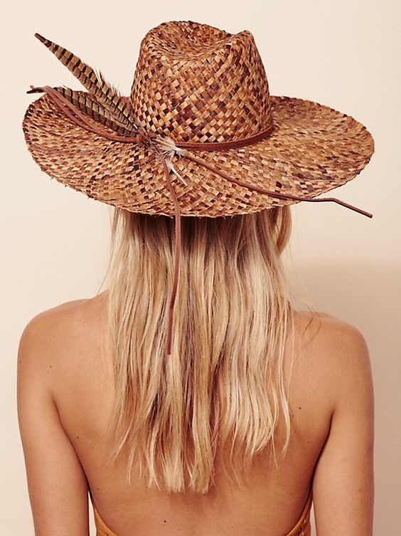 An amazing hat  will make summer more memorable, seriously!