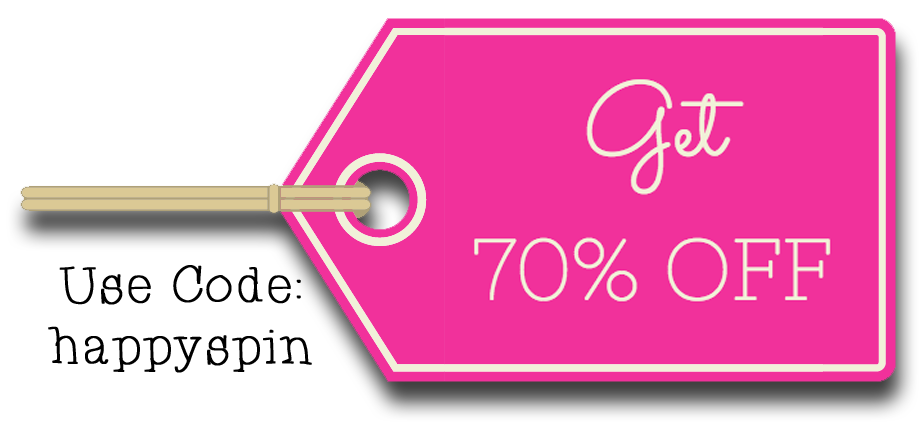 Big News! Get 70% Off of your Spin Brush purchase by using code: happyspin