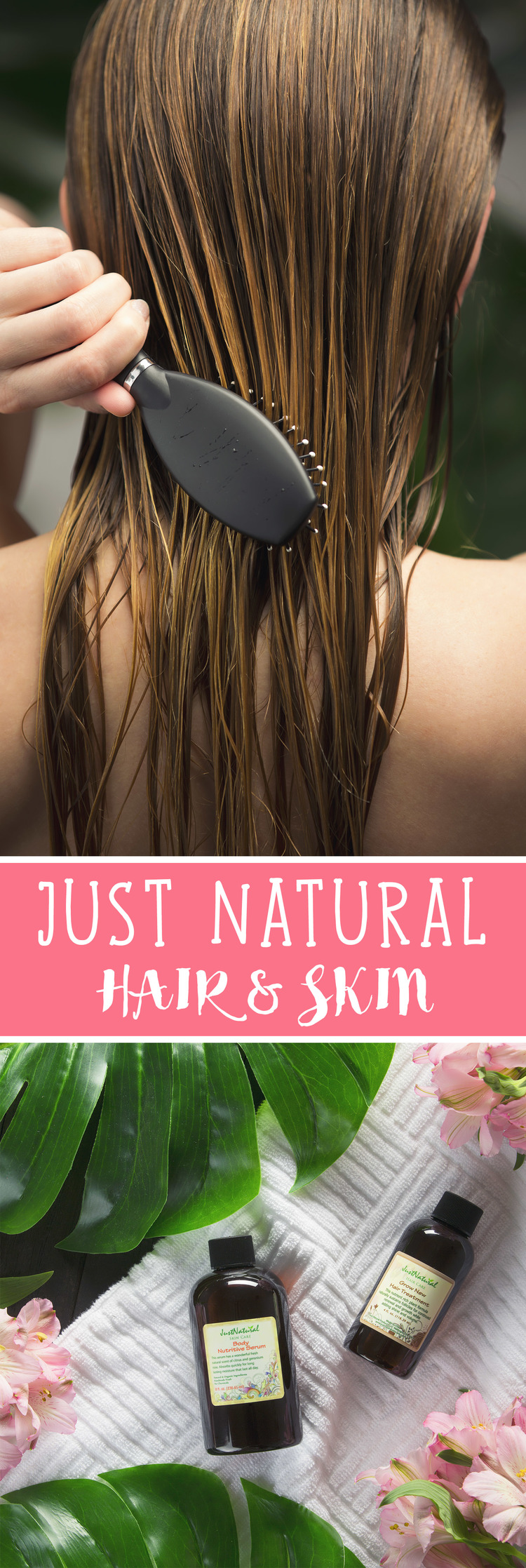Just Natural Hair & Skin