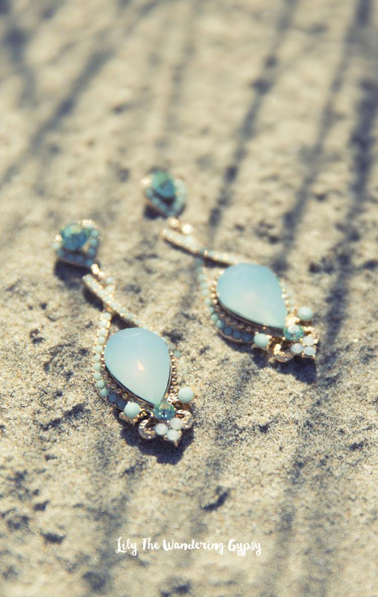 Emma Stine Dress & Jewelry