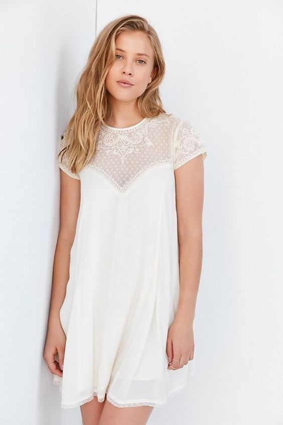 White Dress - so cute!