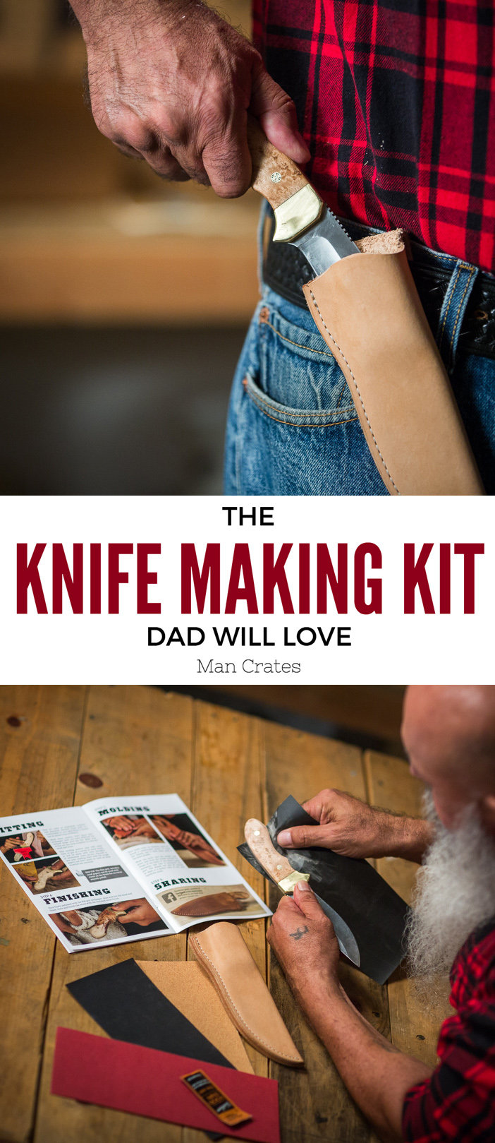 Knife Making Kit - a cool Father's Day gift idea