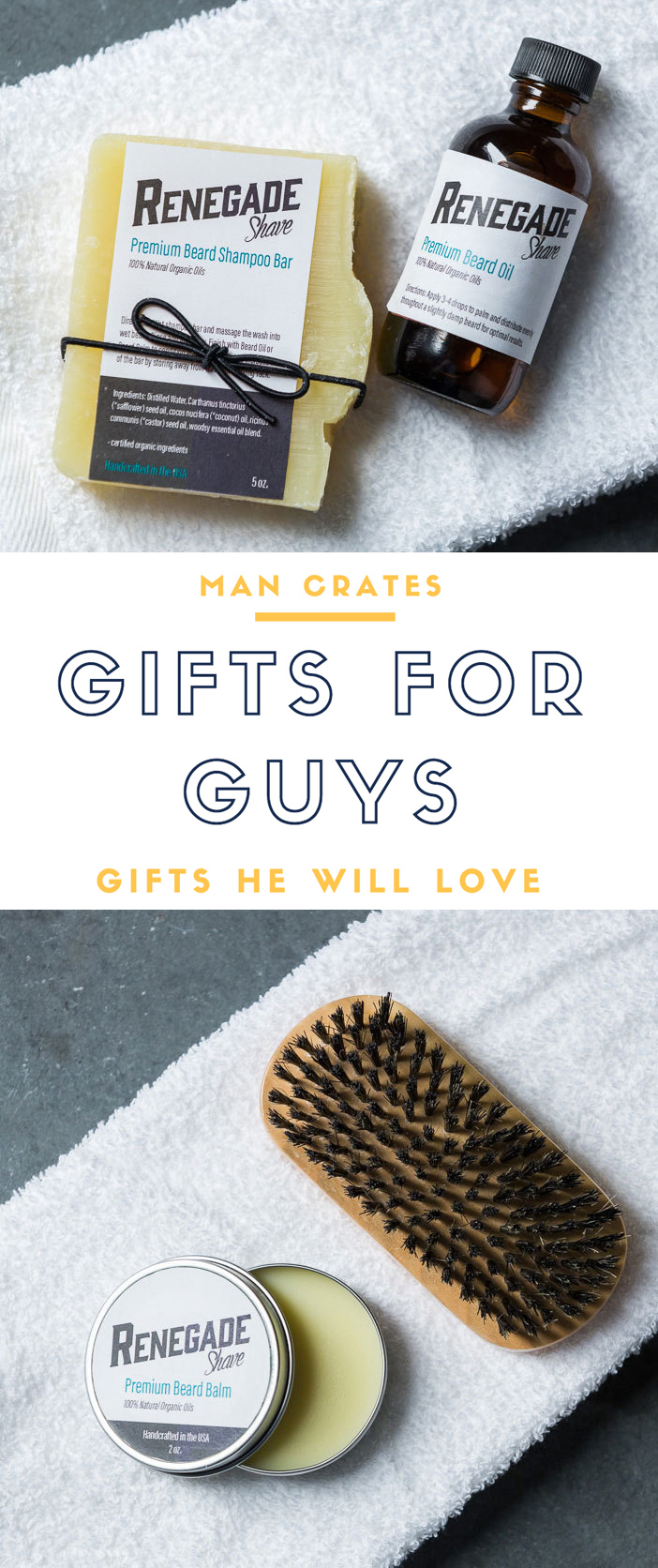 Beard Grooming Kit - Man Crates