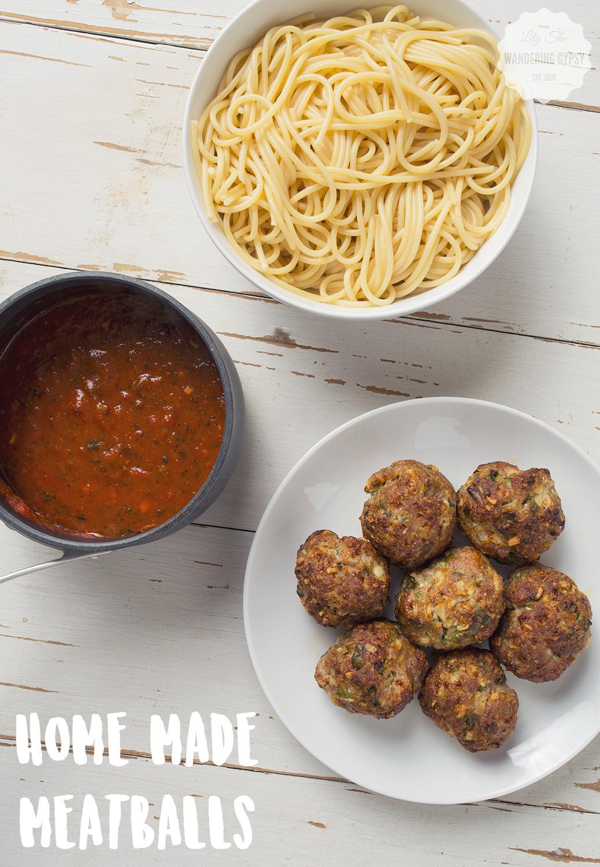 Home Made Meatballs Recipe