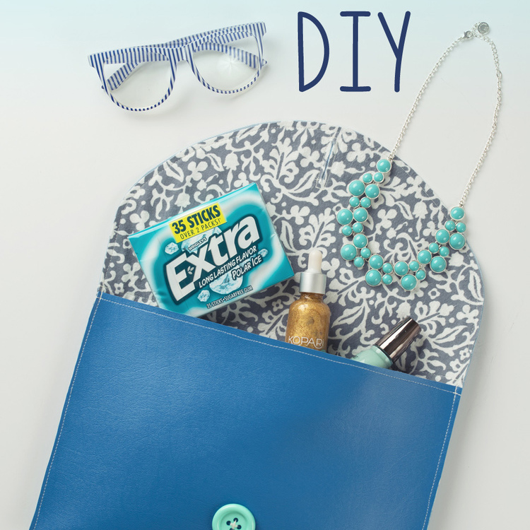 Clutch Purse DIY - 20 Minutes Or Less