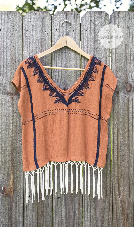 DIY - Add Fringe To Any Shirt